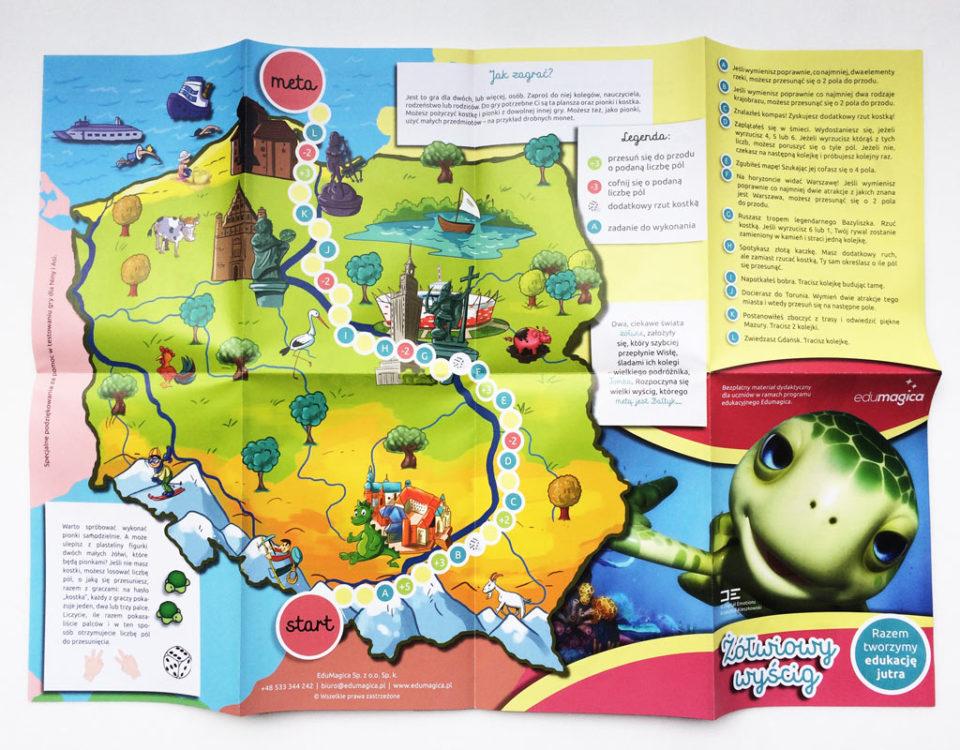 Graffan Art & Design Anna Klamczyńska projekt gry i mapy dla projektu filmowego Edumagica